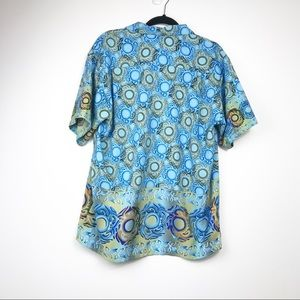 Pineapple Connection Shirts - Mens Pineapple  Connection Blue Oversized Shirt M